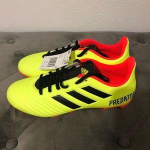 Adidas Fxg 18.3 Predator Soccer FG Cleats Size 7